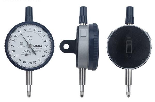 best selling Freeshipping Dial Indicator 0-1*0.001mm Dial Gauge 2019S-10 Dial Test Indicator Metric measurement instrument Measure Tool
