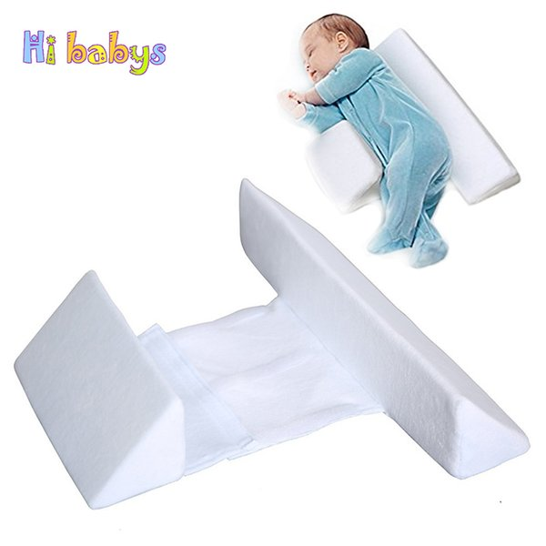 Baby Pillow Anti-Roll Infant Side Sleeper Pro Pillow Adjustable Sleep Positioner Prevent Flat Head Shape Protection Of Newborn