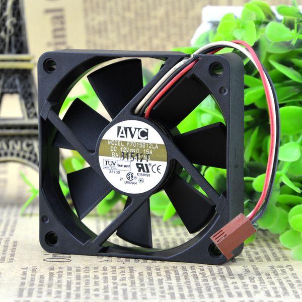 For Original AVC 7015 F7015B12LA 12V 0.15A cpu Ball Cooling Fan 70*70*15MM