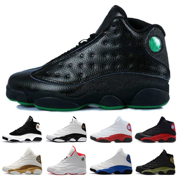 Cheap 13s 13 mens basketball shoes Brown 3M Reflective Silver Flints Athletic sports sneakers women trainers running shoes for men designer