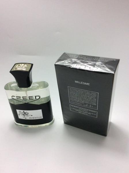 2019 Yeni Creed aventus parfüm erkekler için 120 ml uzun ömürlü iyi kalite ile yüksek koku kapasitesi