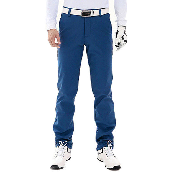 Pgm Men Golf Straight Long Pants Male Quick Dry Slim Fitness Pants High Stretch Breathable Sport Trousers AA11846