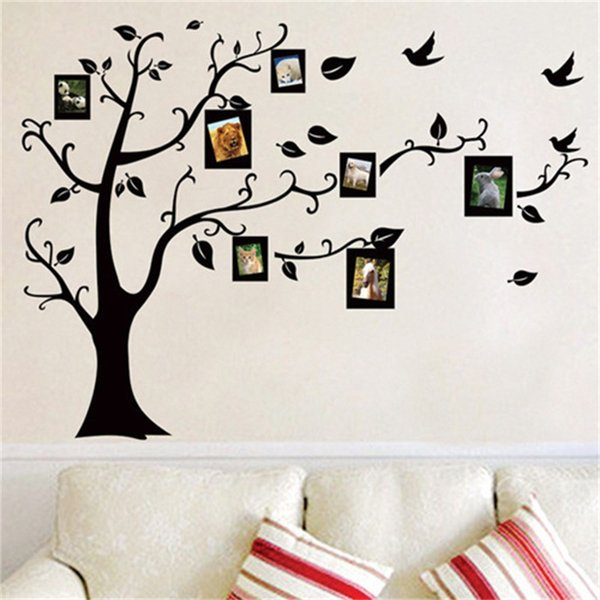 Removable Wall Sticker Aesthetical Photo Tree Living Room Bedroom Window Decal Vintage Diy Mural Poster Home Decor 3 4fx gg
