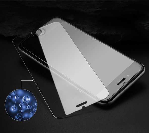 9H Tempered Glass For iPhone X 8 7 6 5 /Plus Screen Protector Protective Guard Film Case For Cell Phone Screen Protectors