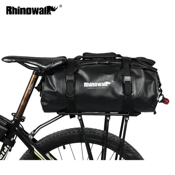 Taschen Großhandel Multi 20l Gepäckträger Sattel Fahrrad Speicher Voll Pannier Wasserdicht Kofferraum Für Rennrad Gepäck cFK1JTl