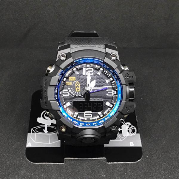 2017 hombres top brand sports reloj de pulsera g moda militar moderna relojes impermeables para hombre relojes digitales al por mayor relogio masculino relojes