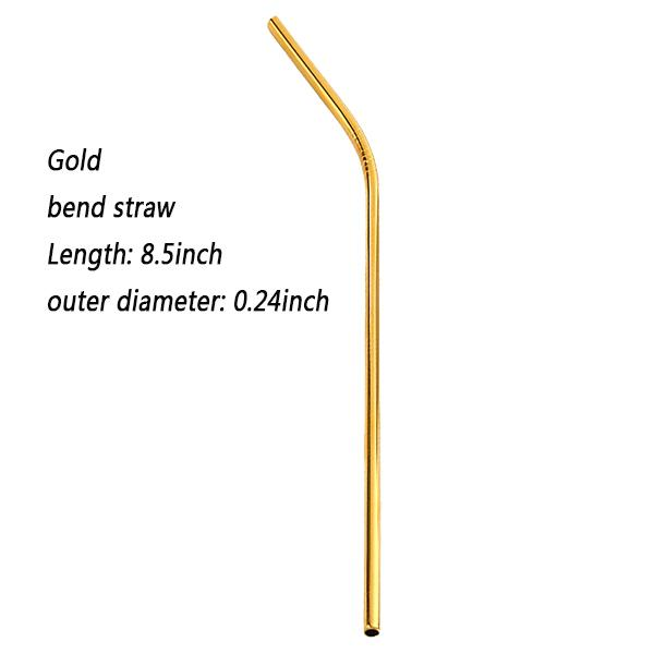 Gold 8.5inch Bend