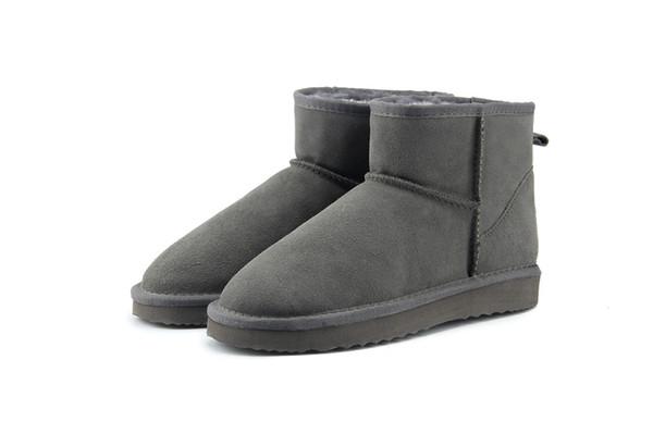Hot vente 2018 haute qualité WGG Australie femmes classique Bottes basses femmes bottes Boot Snow bottes en cuir d'hiver US TAILLE 5 --- 12