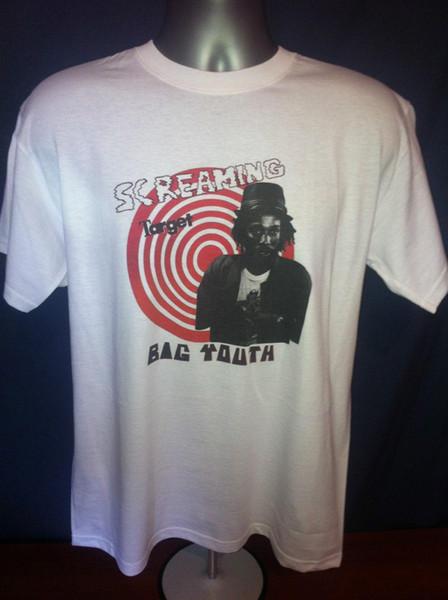 Большая молодежная футболка кричащая мишень сахарный Минотт у-Рой горящее копье даб регги