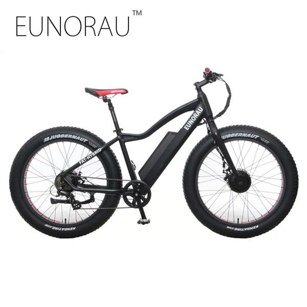 Electric Bike Powerful Fat Tire Electric Mountain Bike double motors AWD eBike Beach Cruiser Electric Snow Bicycle