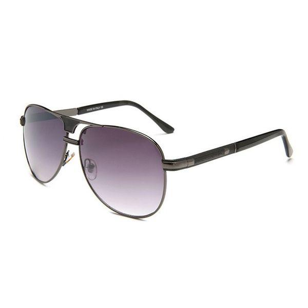 Cubojue Brand Mens Sunglasses Aviation Black Vintage Frog Pilot Sunglass Male Classic Designer Sun Glasses for Man Women Female