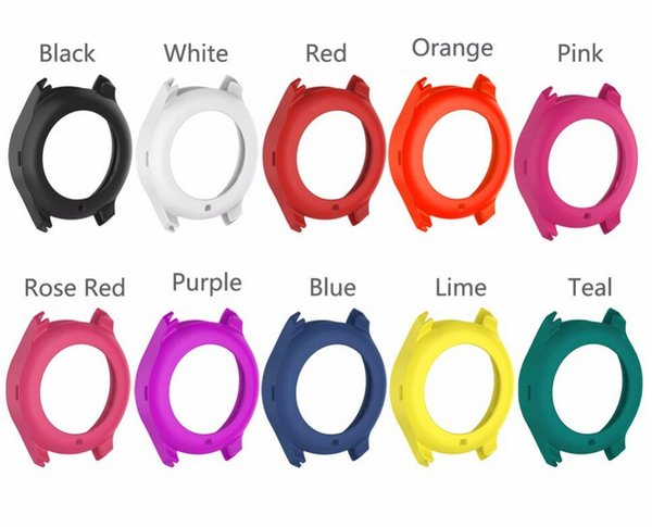 Silicone Smartwatch Protect Cover rubber band cover for Samsung Galaxy Gear S3 S2 frontier R760 watch Protective Case