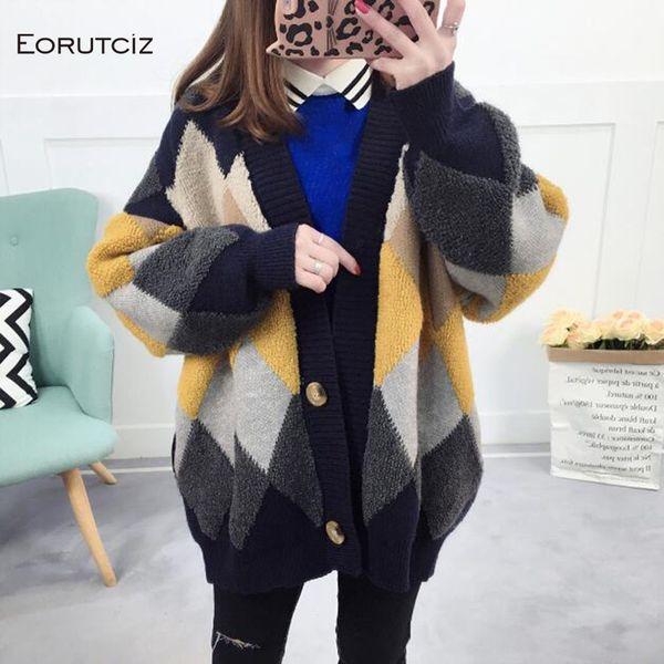 Frauen stricken Pullover Pullover Oversize Turtleneck dick warm Top Mantel Jacke