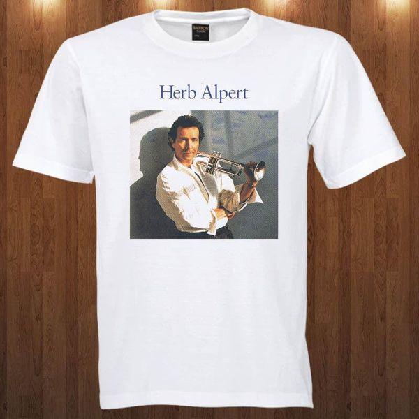 Herb Alpert tee jazz, músico pop S M L XL 2XL 3XL T-SHIRT Janet Jackson