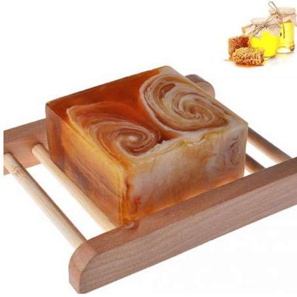 Natürliche handgemachte Propolis-Honig-Milch-Seifen-Gesichtspflege, die weiß werdene Haut-Schönheits-bleichende tief reinigende Seife wieder auffüllt