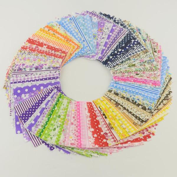 top popular 30 pieces 10cmx10cm fabric stash cotton fabric charm packs patchwork fabric quilting tilda no repeat design tissue cloth 2019