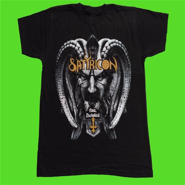T Shirt Baskı Tasarım Şimdi Diabolical Kısa Kollu Erkekler Zomer Ekip Boyun T Shirt