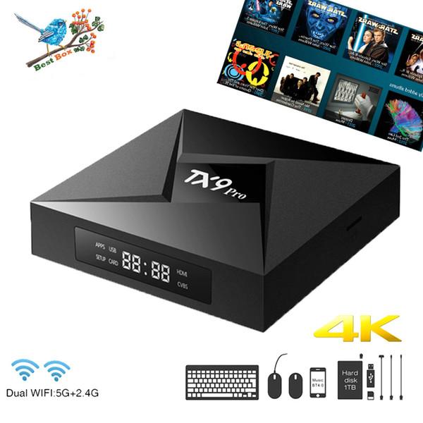 M12 TX9 PRO Octa Core Android 7.1 Amlogic S912 TV BOX 3G 32G 2.4G 5G WiFi Bluetooth Media Player VS T95Z PLUS M8S MXQ PRO