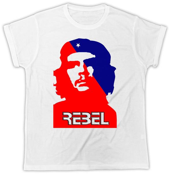 Che Guevara Camiseta Revolução Cuba Rebelde Liberdade Castro Unisex T-Shirt