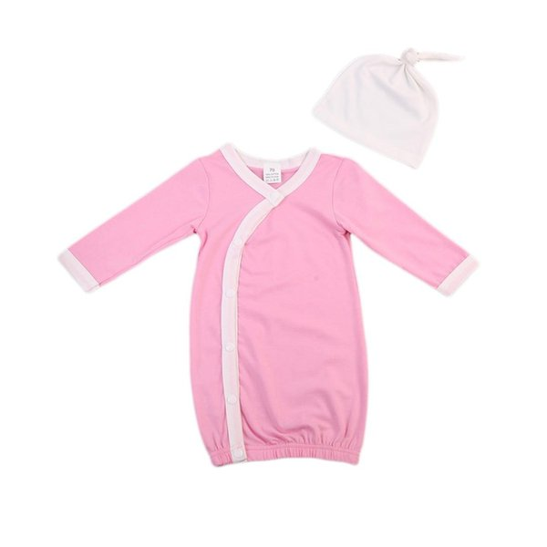 weiche Babyverpackung Baby-Mädchen-Jungen-Schlafsack-neugeborenes Nehmen nach Hause Baumwollausrüstungs-gesetzter Säuglingsgeschenk-Kleid Swaddle-Alter 0-3 Jahre