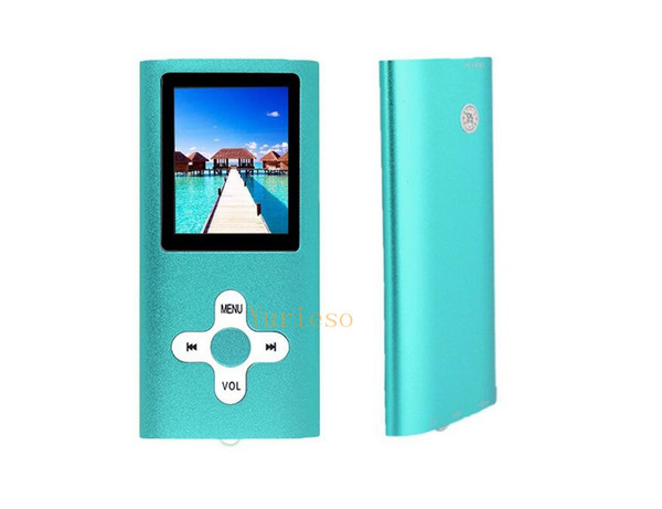 50PCS MP4 Classic Slim 4th MP4 Player Without SD Card With FM Radio Video Player and Recording MP3 support 4G 8G 16G