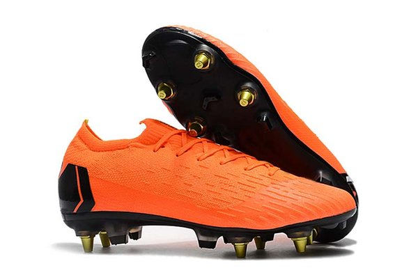 Top Quality Mens/Women/Kids SG Football Boots CR7 Mercurial Superfly VI 360 Elite FG Soccer Shoes Soccer Cleats