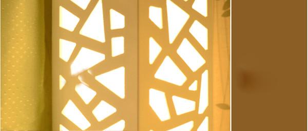 LED Floor Lamp High:120cm or 60cm Free Shipping New Product Creative Fashion Modern Wood-plastic PVC flowers Floor Lamp