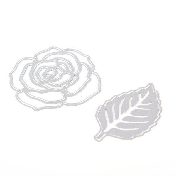 Rose Leaves Metal Cutting Dies Cut Cutter Crapbooking And Stamping Arts Crafts Stencils Paper Shaper Cutter Die