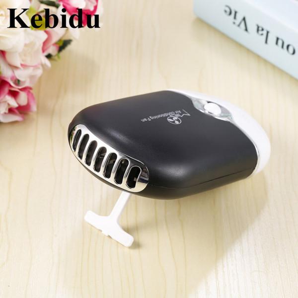 Kebidu Mini USB Ventilateurs De Poche Mini Voiture Climatisation Ventilateur Rechargeable Portable pour Steet Sports Voyager Bureau En Gros