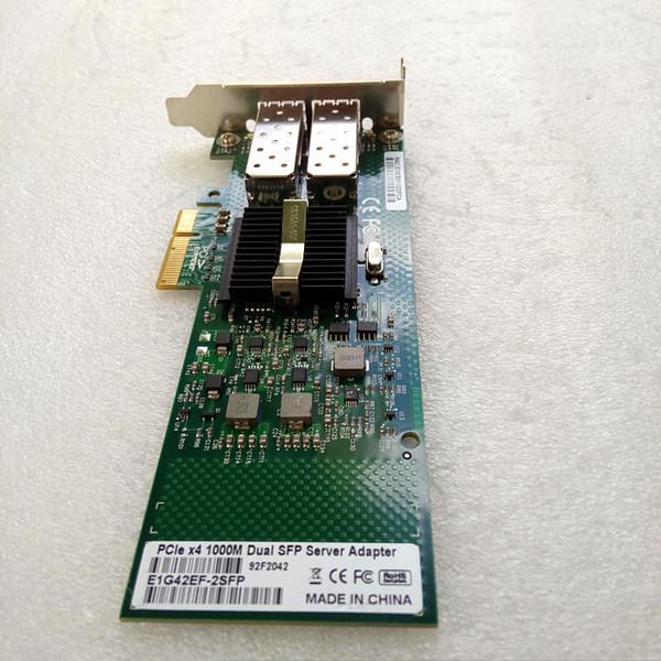 E1G42EF-SFP Dual Port SFP PCI-E X4 Fiber Server Adapter NIC intel 82576 Controller