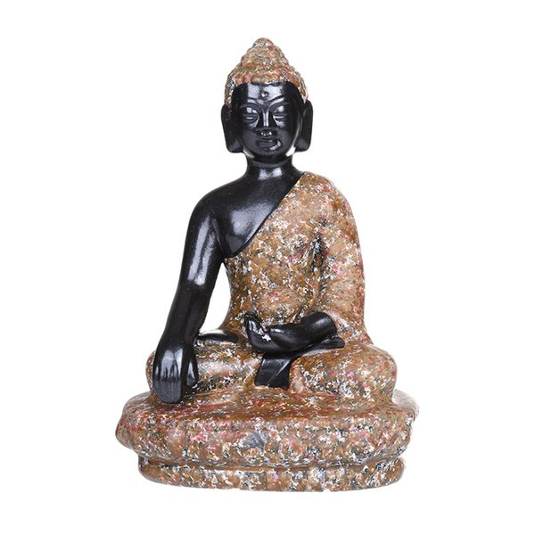 Sud-Est asiatique Bouddha Artisanat Céramique Décoration Indien Assis Bouddhisme Religieux Meubles Maison Jardin Aquarium Table Ornement Décor