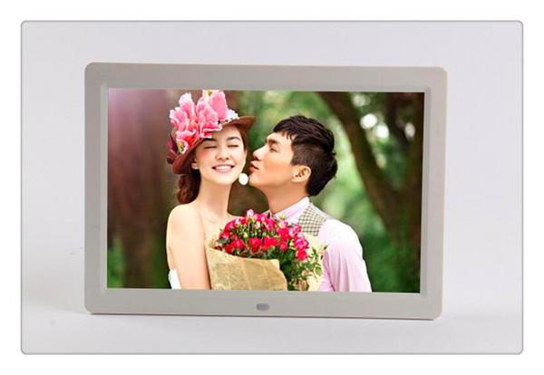 12 pouces cadre photo numérique multifonctions musique vidéo lecteur ebook calend clock livraison gratuite