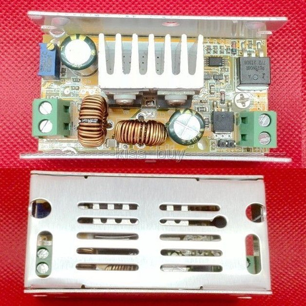 Freeshipping Automatic Buck-Boost Converter DC 7-40V to 1-40V 5v 12v 24v 19v Step Down-up Constant Voltage Regulated 12v CAR Power