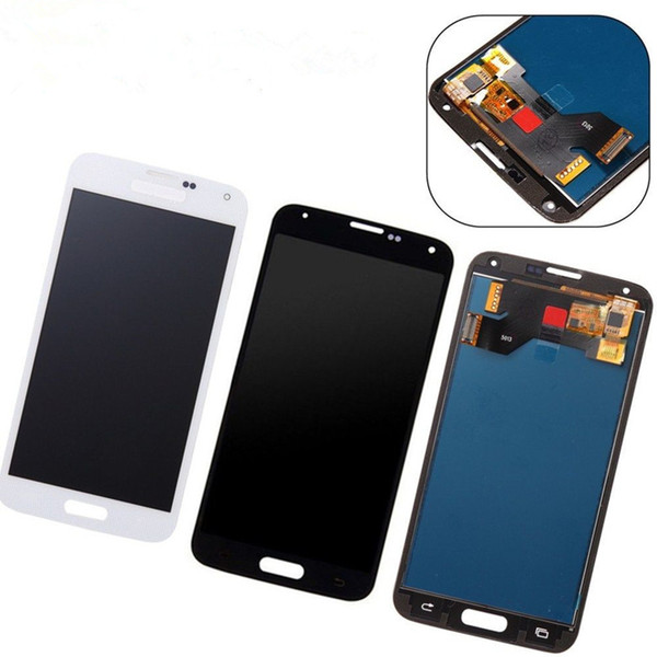 G900f LCD For Samsung Galaxy S5 LCD G900M G900A G900F Display Touch Screen Digitizer For Galaxy S5 Display G900F Screen