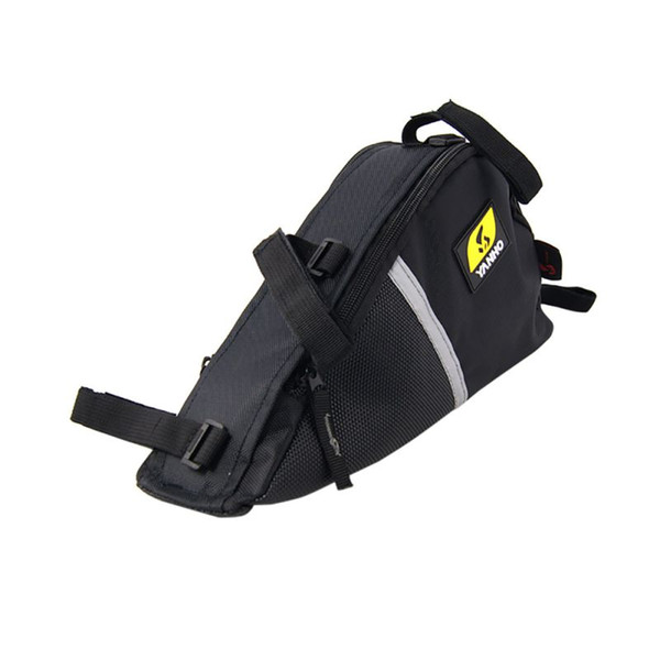 Black Cycling e Frame Bag Bike Bicycle Tube Frame-mount Pack Quick-Access