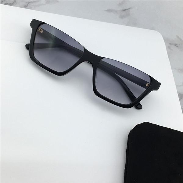 Wholesale fashion sunglasses 40028 square half frame Avant-garde simple classic popular style uv400 protection women sunglasses top quality