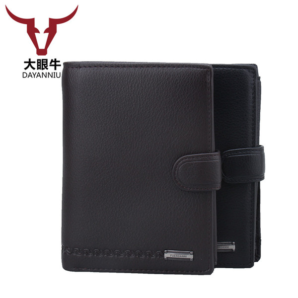 2 in 1 Men PU Leather Wallet Russia driver license case passport cover Money Pocket Large Capacity Coins Purse