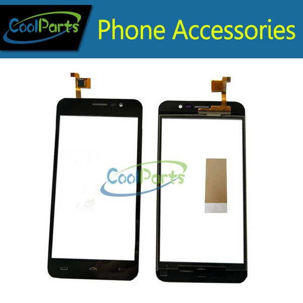 1PC/Lot High Quality 5.0Inch For Homtom HT16 Pro HT16 Touch Screen Digitizer Touch Panel Lens Glass With Tape Black Color
