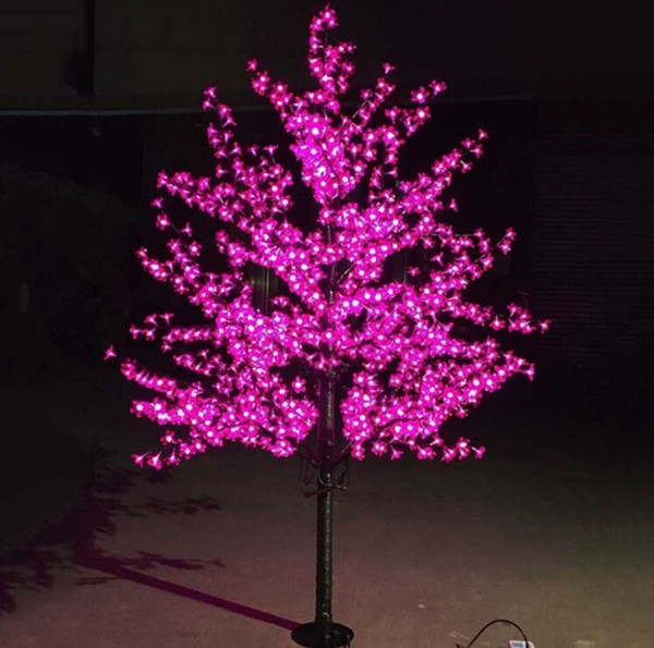 Outdoor Waterproof Artificial 1 5m Led Cherry Blossom Tree Lamp 480leds Christmas Tree Light For Home Festival Decoration Christmas Ornaments Online