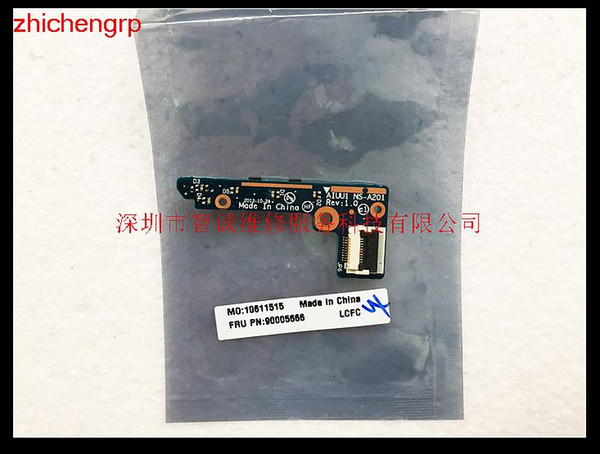 zhichengrp For lenovo Ideapad YOGA 2 11 laptop Power Button Circuit Board AIUU1 NS-A201