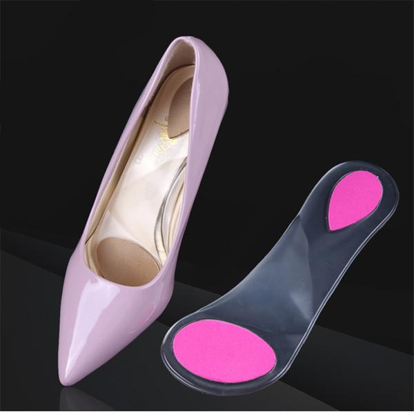 GEL partielle schuhpolster damen sandalen high heels einlegesohlen weiche rutschfeste einlegesohlen frauen arch support shoe pad