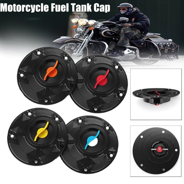 Per Yamaha FZ1 / FZ6 / FZR750 / 1000 / R1 / R6 / YSR 50 Accessori per motocicli CNC Serbatoio carburante in alluminio Tappo Serbatoio gasolio Coperchio benzina