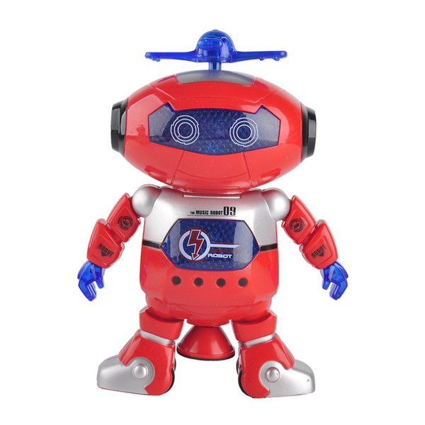 Wonderful Smart Space Dance Robot Astronaut Play Electronic Walking Dancing Toys with Music Light Gift for Kids Children 2 Color