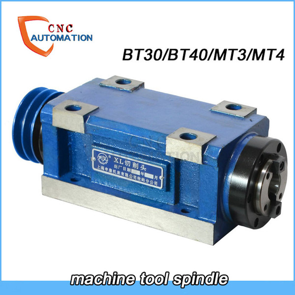 best selling machine tool spindle cnc Spindle BT30 BT40 MT3 MT4 belt wheel CNC milling machine pulley Machine tool transformation