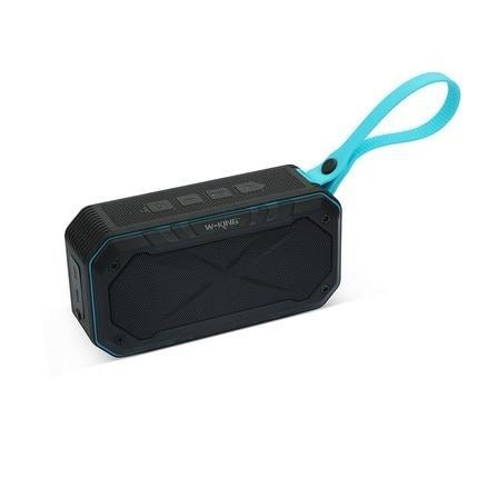 W-King S18 Portátil A Prueba de agua Bluetooth Altavoz Inalámbrico NFC Súper Bajo Altavoces soporte TF Tarjeta Radio Altavoz para bicicleta