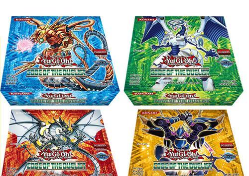 216 pcs / box yugiohcard Game Toys English Version Boys Girls Yu Gi Oh Games Collection Cards Christmas Gift