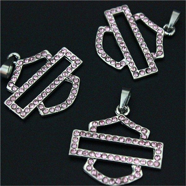 cristal de color rosa