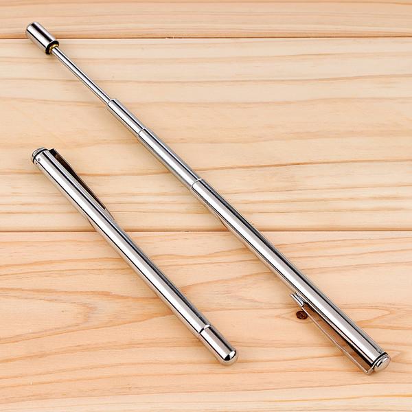 1PC Pointer Pen Instrument Section 6 Stainless Steel Magic Ballpoint Pens Kindergarten Teacher Teaching Supply