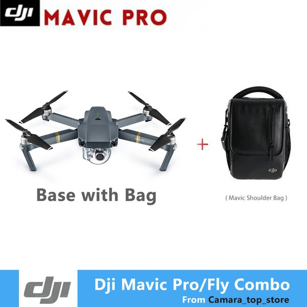 DJI Mavic Pro Drone 3 battery Mavic Pro Fly combo Drone With 4K HD Camera Folding FPV Drone mavic pro carbon 4K GPS