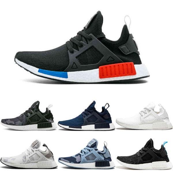 brand new 280e6 019e7 Adidas Originals Nmd Xr1 Duck Camo Pack Primeknit Og Pk Best Quality Men  Women Running Shoes Sports Athletic Sneakers Size 5 11 Men Shoes On Sale ...